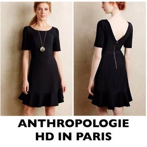 HD in Paris Black Marcelline Sheath Dress Size 6